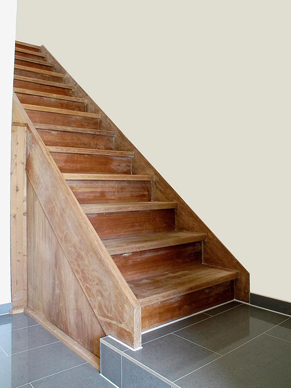 Treppnrenovierung vorher