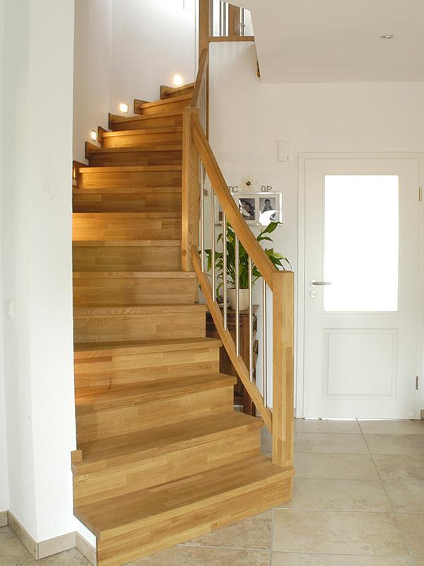 Treppenrenovierung Betontreppe